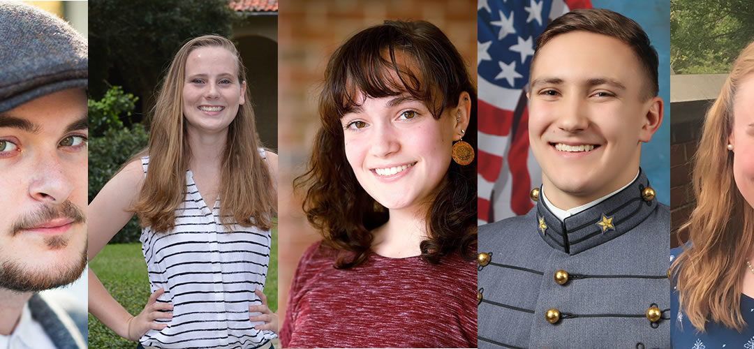Five Stamps Scholars Win 2019 Barry Goldwater Scholarship